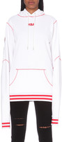 Hood by Air Angel Dust cotton-jersey hoody