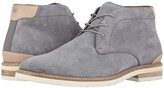 Florsheim Highland Plain Toe Chukka Boot (Gray Suede/White Sole) Men's Shoes