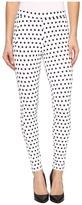 Hue Dot Loafer Skimmer Women's Casual Pants