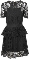 Blugirl Floral Lattice Lace Dress
