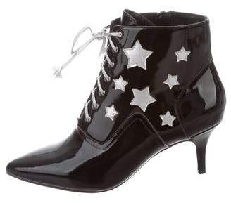 Isa Tapia Rhea Lace-Up Booties w/ Tags