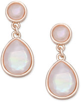 Charter Club Stone Drop Earrings, Only at Macy's