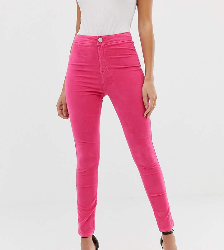 b8974650dbd Pink High Waisted Skinny Jeans - ShopStyle UK