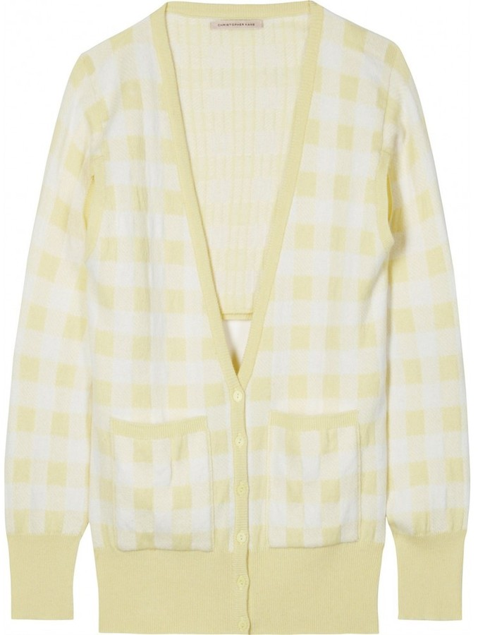 Christopher Kane CUT OUT CASHMERE CARDIGAN
