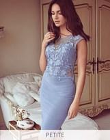 Lipsy Love Michelle Keegan Petite Lace Applique Bodycon Dress