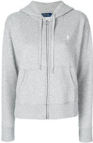Polo Ralph Lauren zip up hoodie - women - Cotton/Polyester - XS