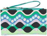 Emilio Pucci printed wristlet pouch