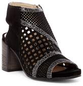 Khrio Perforated Block Heel Bootie
