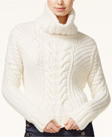 Tommy Hilfiger TOMMYXGIGI Cable-Knit Turtleneck Sweater