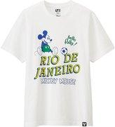 Uniqlo Men Disney Collection City Logo Graphic T-Shirt
