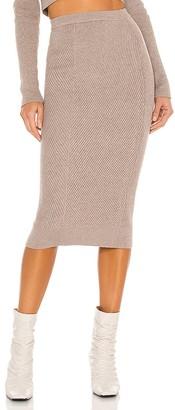 L'Academie Sienna Midi Skirt