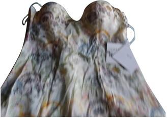 La Perla Ecru Silk Top for Women