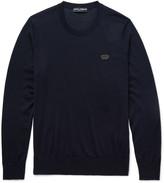 Dolce & Gabbana - Appliquéd Cashmere Sweater