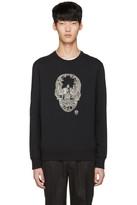Alexander McQueen Black Skull Pullover