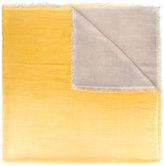 Faliero Sarti contrast woven scarf