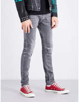 Diesel Sleenker distressed skinny mid-rise stretch-denim jeans
