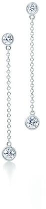 Tiffany & Co. Elsa Peretti Diamonds by the Yard drop earrings in platinum