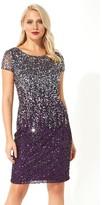 M&Co Roman Originals ombre sequin shift dress