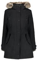 George Ozark Trail Waterproof Wind Resistant Faux Fur Trim Coat