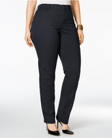 Style&Co. Style & Co. Plus Size Tummy-Control Slim-Leg Jeans, Created for Macy's