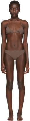 Rudi Gernreich Brown Classic Bikini