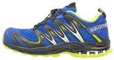 Salomon Xa Pro 3d Trail Running Shoes Cobalt/black/granny Green