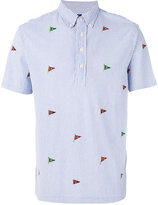 Polo Ralph Lauren embroidered flags polo shirt