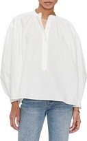 Anine Bing Eden Cotton Poet Blouse