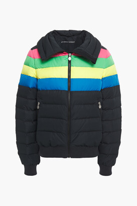Perfect Moment Queenie Quilted Color-block Shell Jacket