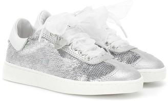 MonnaLisa Sequined sneakers