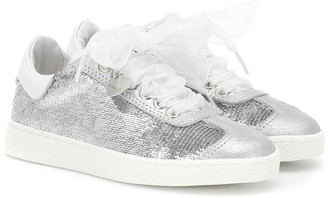 MonnaLisa Sequined sneakers
