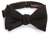 Alexander Olch Men's Solid Silk Bow Tie