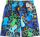 City Threads Printed Swim Trunk (Baby) - Ollie Octopus Print - 6-9 Months