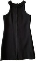 Chanel Black Wool Dress for Women Vintage