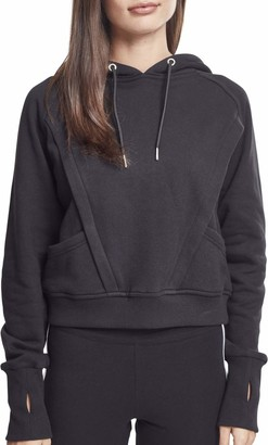 Urban Classics Women's Ladies Thumb Hole Hoody Hooded Sweatshirt