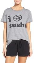Chaser Women's I Love Sushi Tee