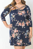 Gilli Chelsi Navy Dress