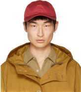 Our Legacy Red Satin Ball Cap