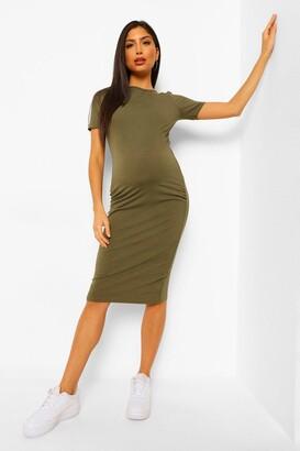 boohoo Maternity Bodycon Mini Dress