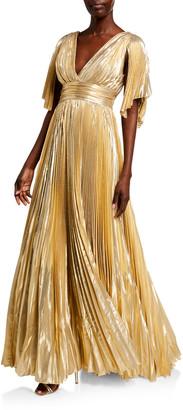 ZUHAIR MURAD Azdorado Metallic Gown