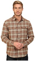 Royal Robbins Performance Flannel Long Sleeve Overshirt Men's Long Sleeve Button Up