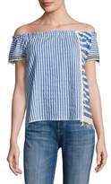 Lemlem Assaman Striped Off-The-Shoulder Top