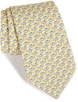Vineyard Vines Men's Shark Print Silk Tie