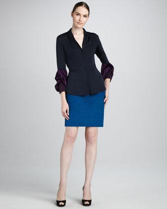 Elie Tahari Alexis Straight Skirt