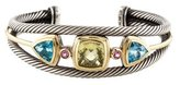 David Yurman Multi Stone Cuff Bracelet