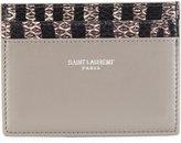 Saint Laurent Paris cardholder - women - Leather - One Size