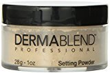 Dermablend Loose Setting Powder, Cool Beige, 1 Ounce