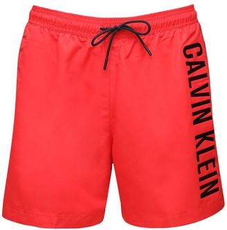 Calvin Klein Underwear Logo Tech Swim Shorts