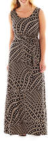 MSK Sleeveless Print Maxi Dress - Plus