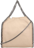 Stella McCartney Beige Faux Leather Falabella Tote Mini Bag